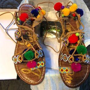 Sam Edelman Lisabeth Lace Up Sandal
